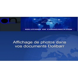 Affichage de photos dans vos documents Dolibarr